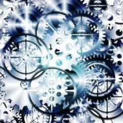 set of gears wheels