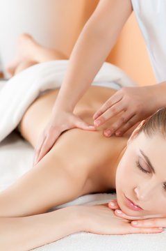 Massage at health club