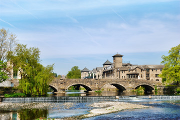 Historical arched bridge