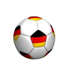 balón bandera alemania