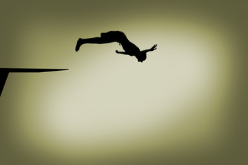 Diving from the Springboard