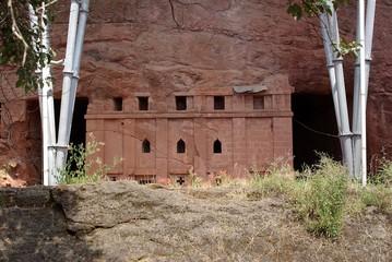 Wall Mural - Eglise de Lalibela, Ethiopie