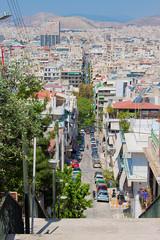 Photo streets in Piraeus, Athens, Greece