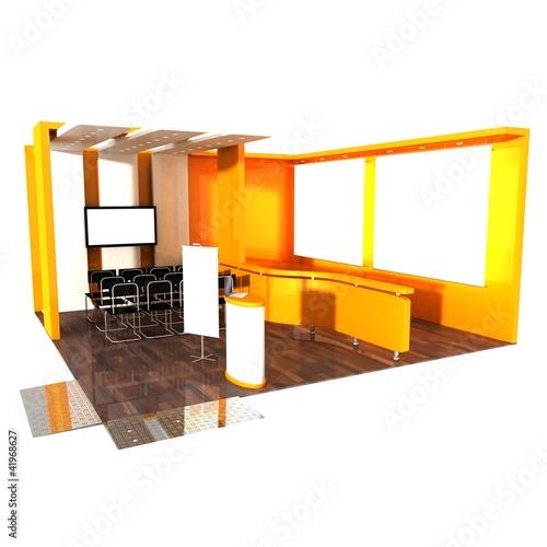 Stand exposition salon photo libre de droits sur la for Stand exposition salon