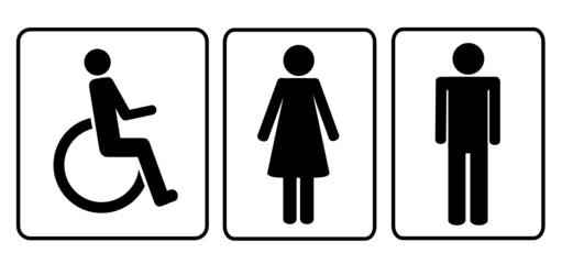 piktogramm toilettensymbol