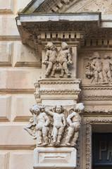 Celestines' palace. Lecce. Puglia. Italy.