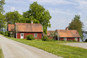 Houses and environment in Sweden.