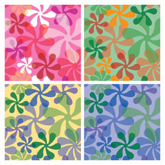 Mod Pattern in Four Colorways