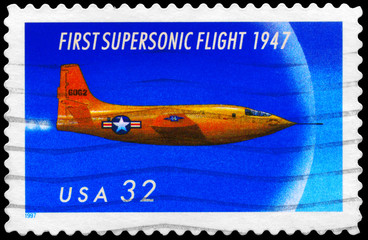 USA - CIRCA 1997 Supersonic
