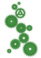 ギア(緑)