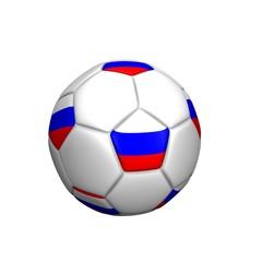 balón bandera Rusia