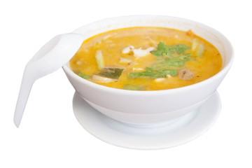tom yam spicy soup