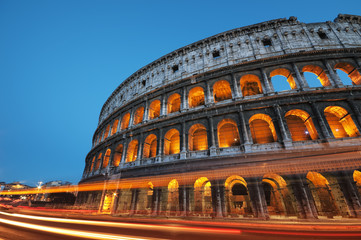 Wall Mural - The Colosseum in  Rome - Italy