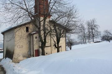 chiesa neve