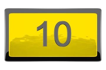 Nombre 10.09