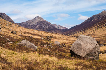 Glen Rosa on the Isle of Arran, Scotland