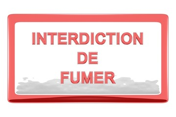 Interdiction de fumer 1.09