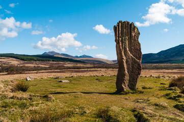 Machrie Moor Standing Stone - Arran