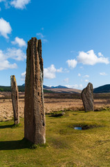 Machrie Moor Stone Circle (portrait)