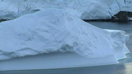 Fototapete - iceberg in antarctica