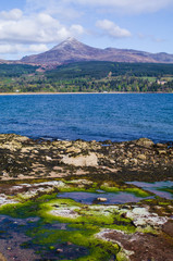Goatfell on the Isle of Arran, Scotland