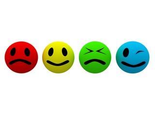 4 faces