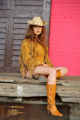 attractive, country, cowgirl, emotion, girl, sexy, young,