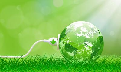 Green Energy Plug.