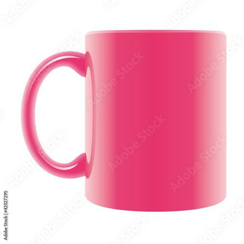 tasse pink mit henkel stockfotos und lizenzfreie bilder. Black Bedroom Furniture Sets. Home Design Ideas
