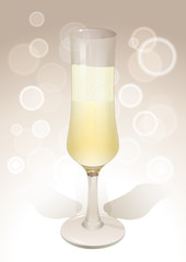 Wineglass background