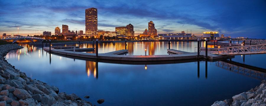Milwaukee  Panorama.