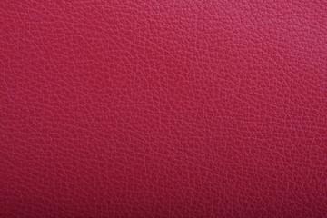 Foto op Canvas Leder Rote Leder Oberfläche