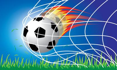 Soccer football penalty