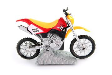 Toy motocross bike