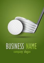Business logo golf desing
