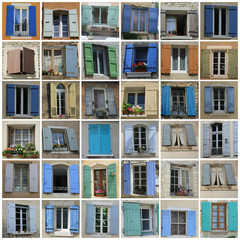 Windows of the Provence