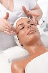 Beauty treatment at dayspa