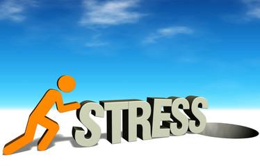 Figuren-Serie: Stress bekämpfen