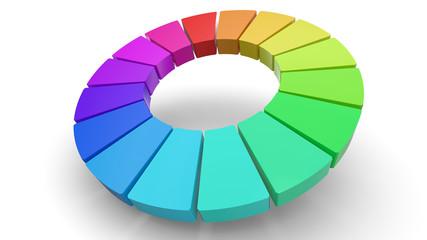 3d color wheel
