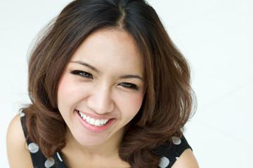 happpy smiling women portrait