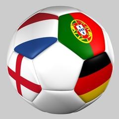 balón banderas grupo B euro copa 2012
