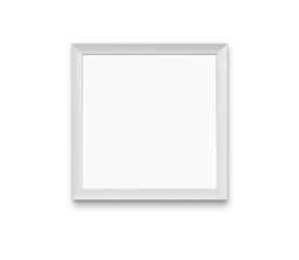 Blank photo frame isolated on white with clipping paths