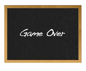 Game over.