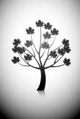 vector maple tree