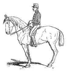 Rassembler, an exercise meant to increase mobility of the horse