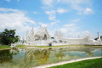 Famous white temple