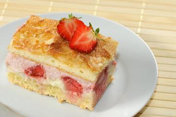 Kuchen mit Früchte