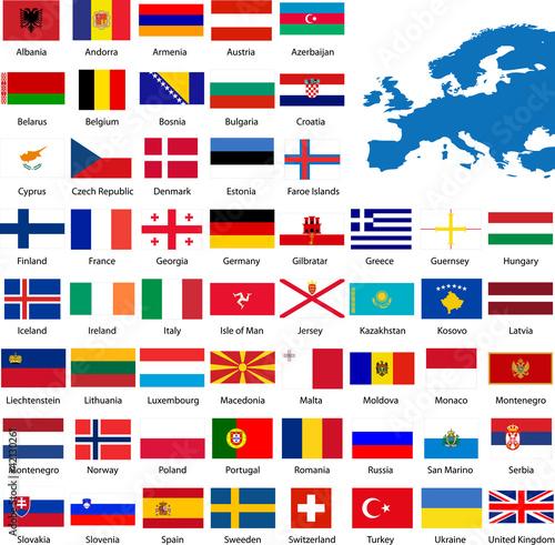 drapeau europe fichier vectoriel libre de droits sur la banque d 39 images image. Black Bedroom Furniture Sets. Home Design Ideas