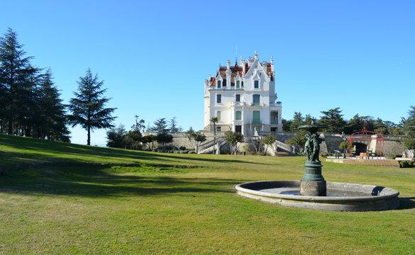Dans le parc du Chateau Valmy  (Argelès sur mer )