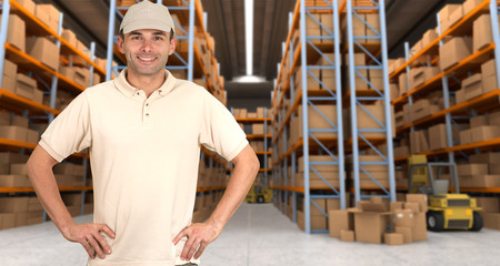warehouse delivery b
